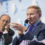 Javier Solana, President, ESADE Center for Global Economy and Geopolitics; Member of the Board, Yalta European Strategy and Leonid Kuchma, President of Ukraine (1994-2005)
