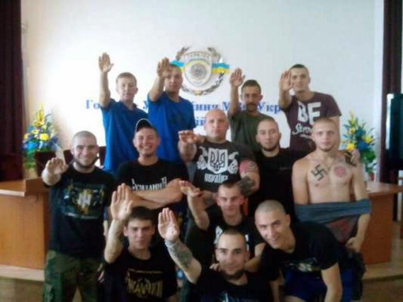 Nazis in der Kiewer Polizei